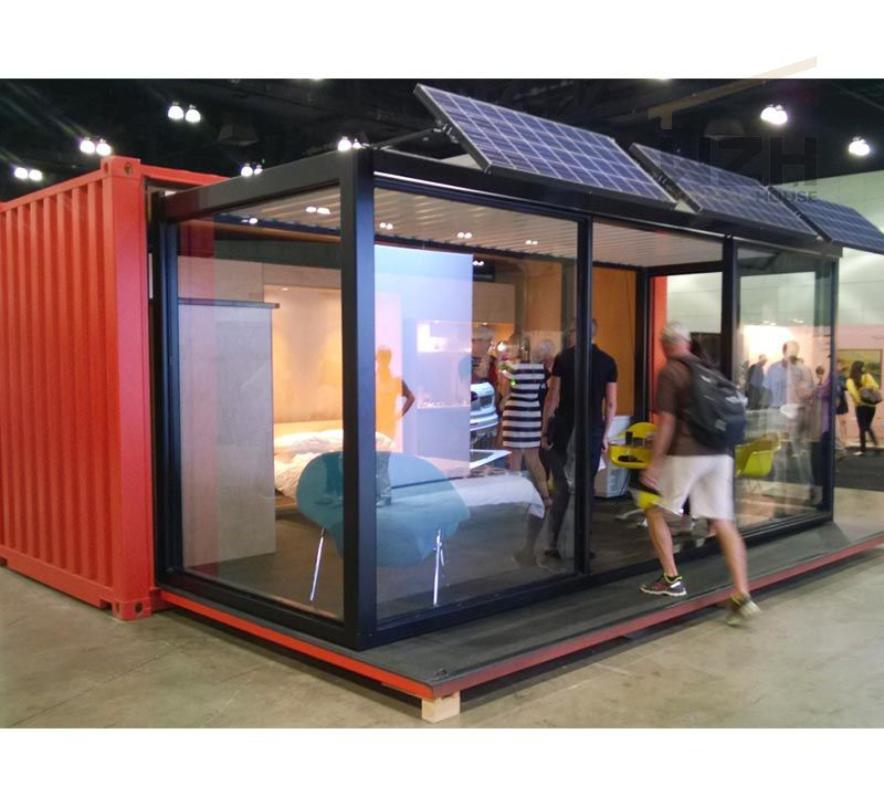 China Easy Install folding modular Prefabricated Steel Structure Container House prefab homes