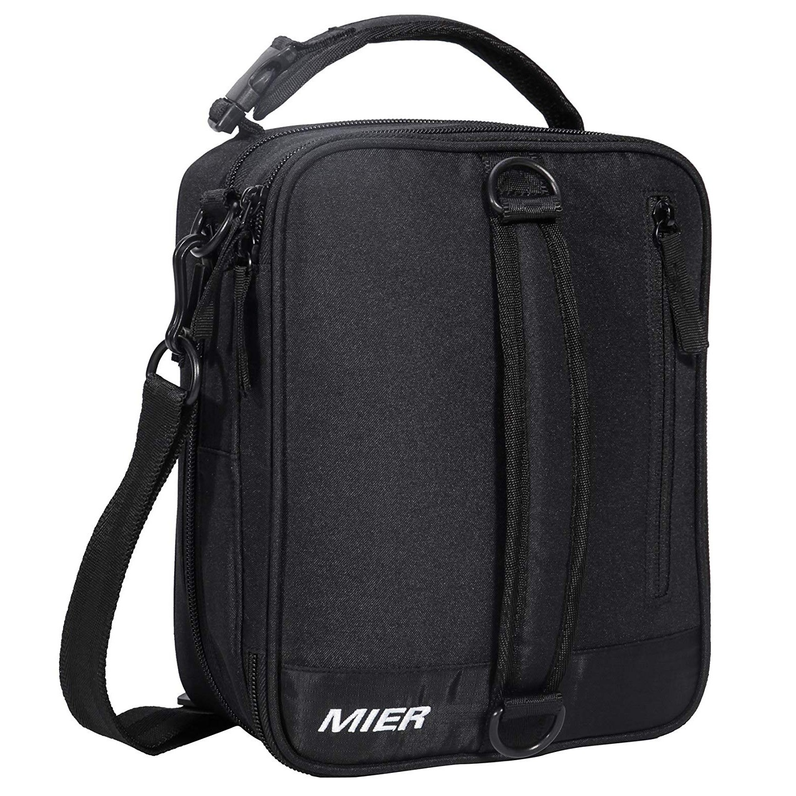 MIER Insulated Lunch Box Bag Expandable Lunch Pack for Men, Women
