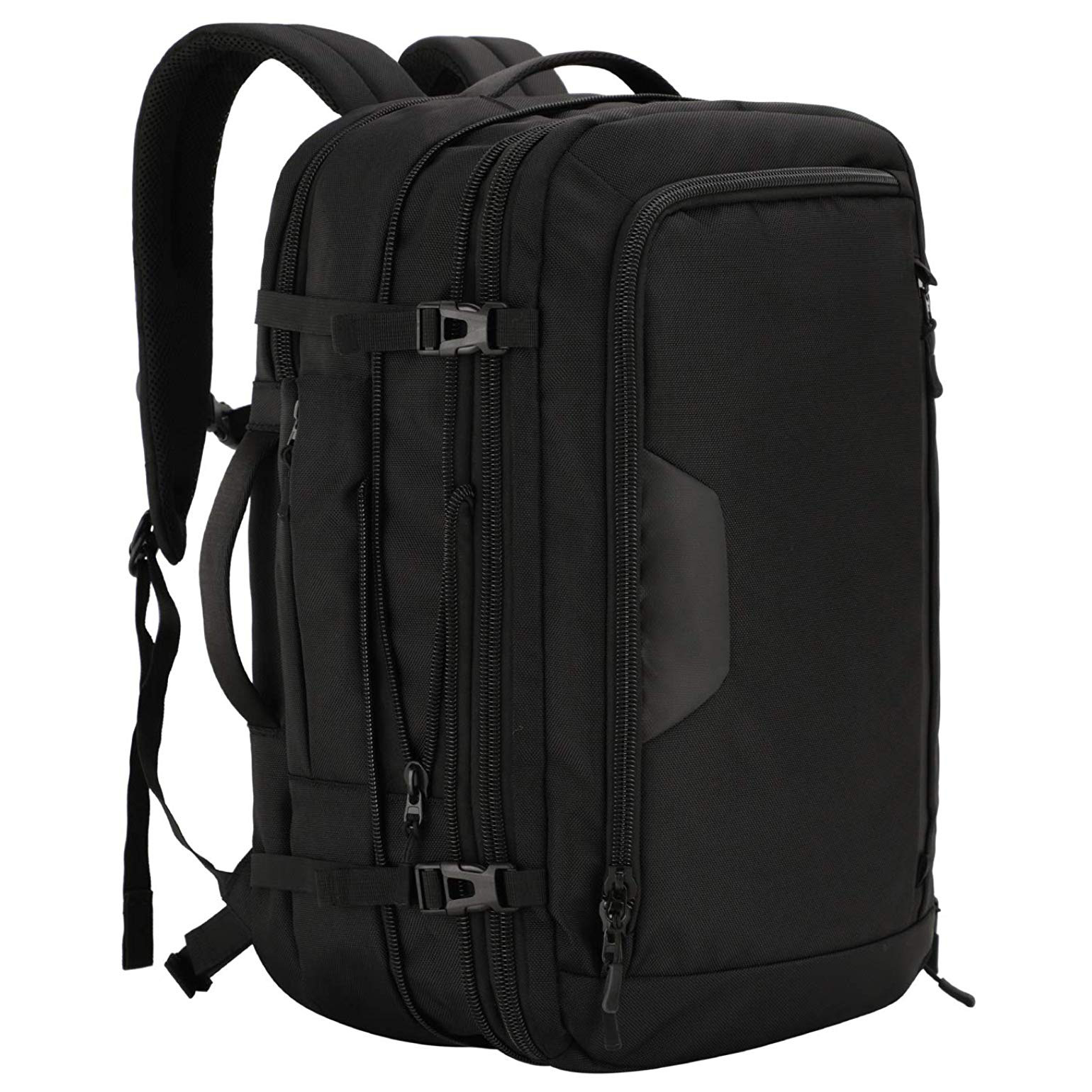 MIER Expandable Travel Backpack Waterproof Carry-on Weekender Bag