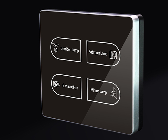 Smart home hotel wall switch touch light switch