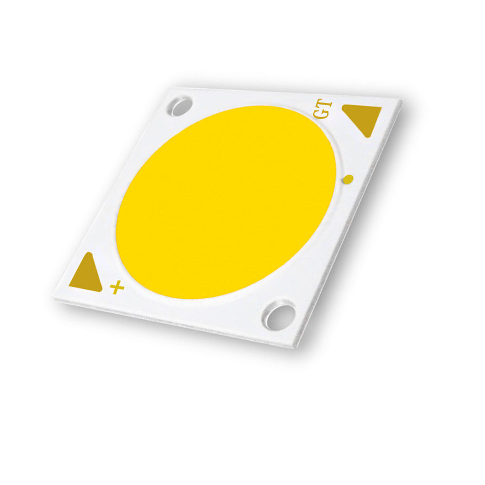 Commercial Lighting Led Light Source 50w Ra80 1212 Cob Chip 28*28mm
