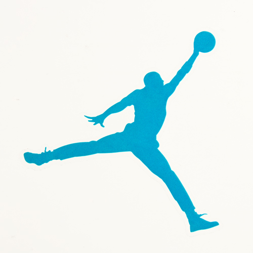 Custom Stickers No Minimum | Air Jordan Clear Stickers | Customsticker.com ™