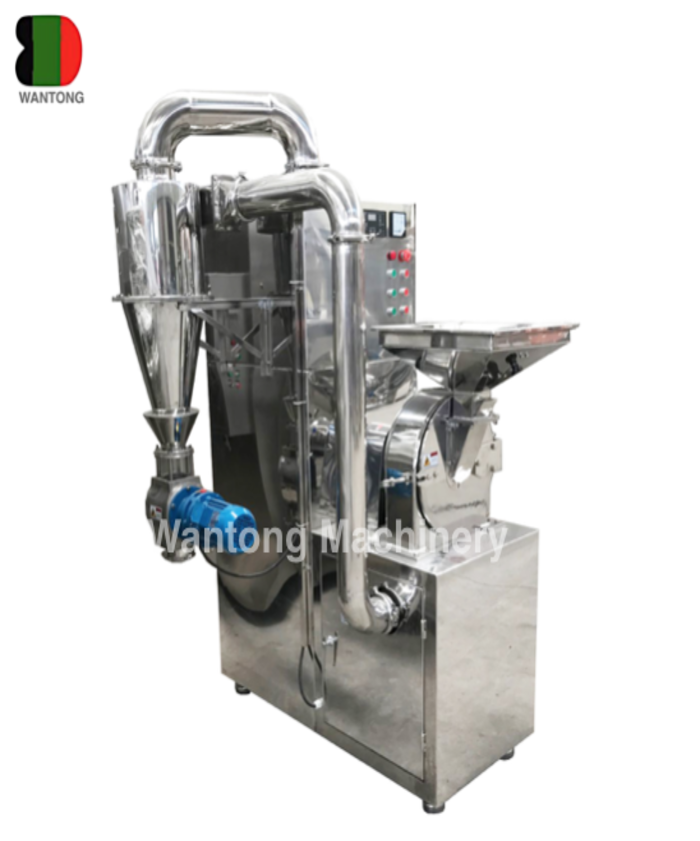 pulse cyclone dust collector pulverizer