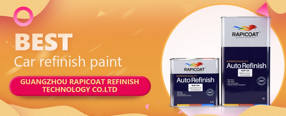 color paint for car refinishing auto repair