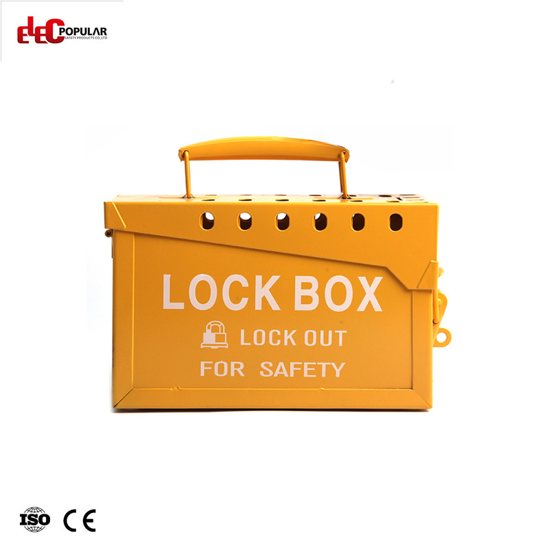 Metal Portable Lock Box EP-8812  Lockout Box and Kit   Group Lockout Box