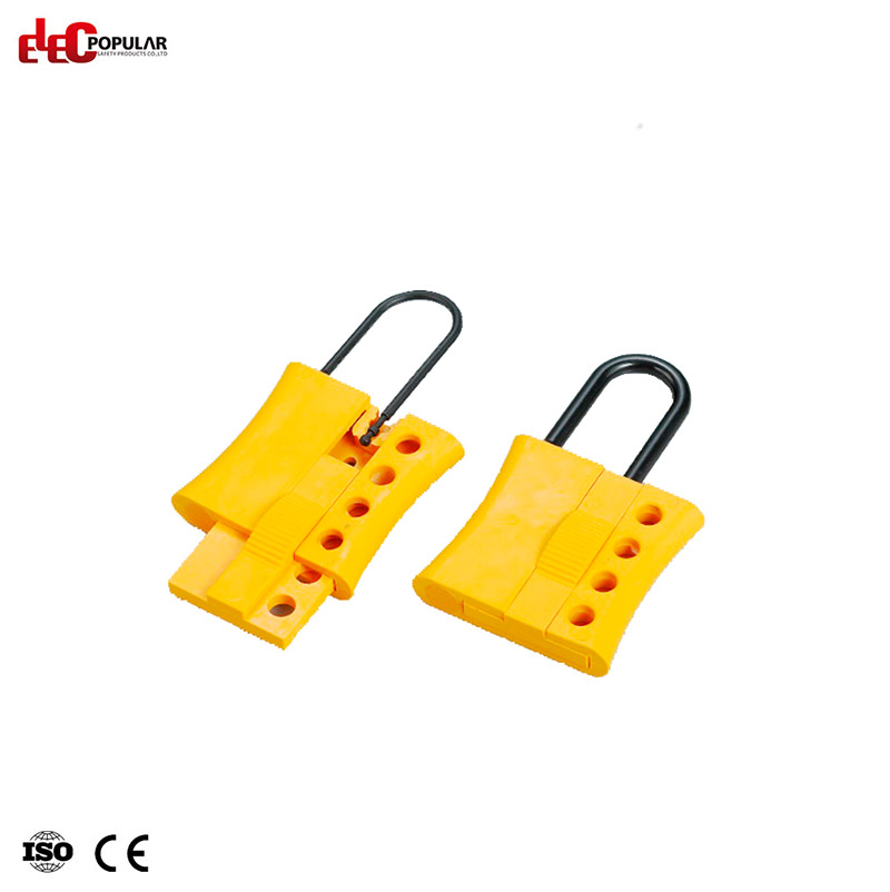 Four Holes Insulation Hasp Lockout EP-K45  Lockout Hasps  padlocks for sale