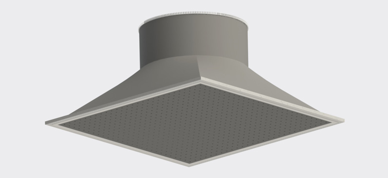Diffusox™ Textile Air Duct Diffuser