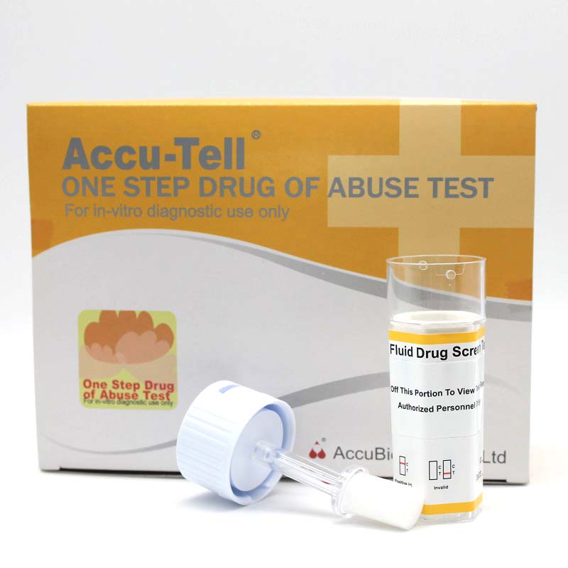 Accu-Tell® Multi-Drug Rapid Test Saliva Cup