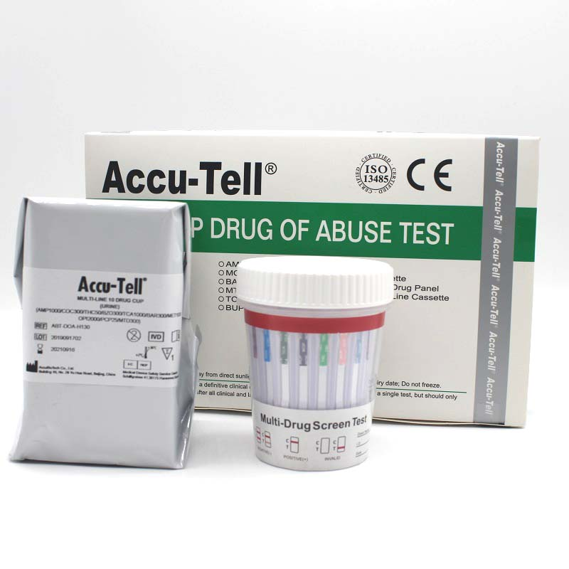 Accu-Tell® Multi-Drug Rapid Test Urine Cup without Lock