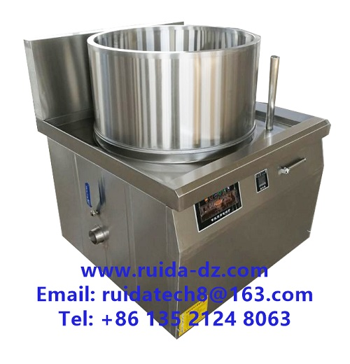 Commercial Sugar Melting Pot for Syrup / Electric Heated Candy Cooking Pot
