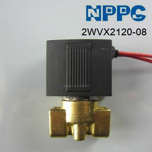 High quality 2way Fluid Brass solenoid valve.Normally closed type. Model:VX2120-08