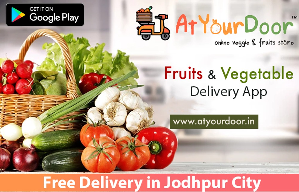 Fruits aand Vegetables Online in Jodhpur