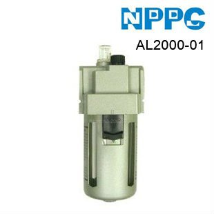 SMC type air lubricator. high quality air treatment unit. Model:AL2000-01 G1/8.Free-shipping