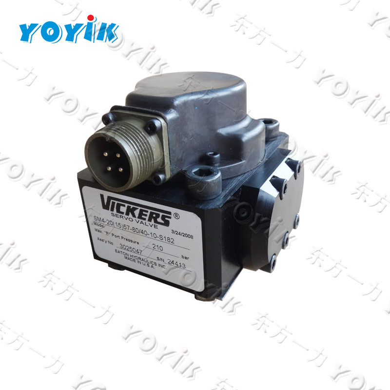 Power plant spare parts IGV SERVO VALVE ELECTRO HYDRAULIC FLOW CONTROL G771K202