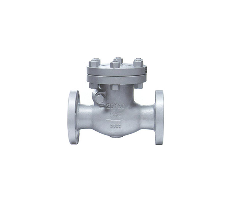 JIS FLANGE CAST STEEL SWING CHECK VALVE