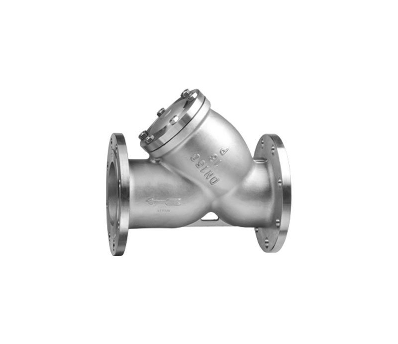 DIN FLANGE STAINLESS STEEL Y-STRAINER