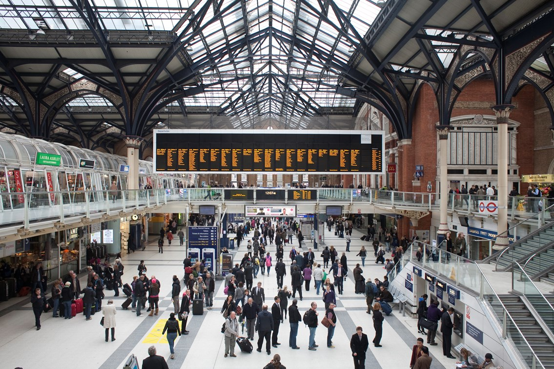 Travel info from London Liverpool Street