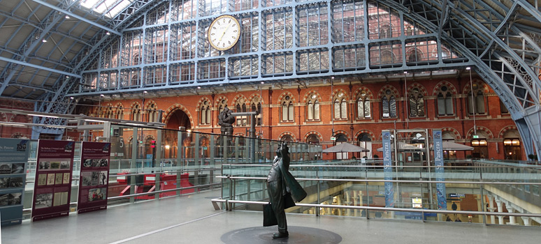 Travel info from London St. Pancras