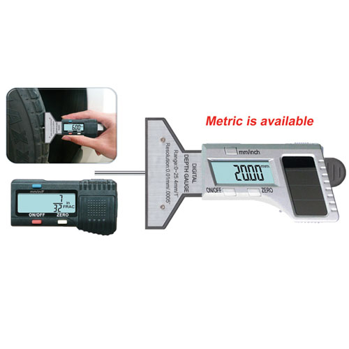 Digital Tyre Gauges & Tread Depth Gauges