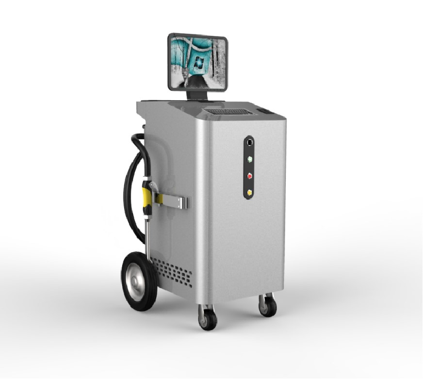 Dry Ice Engine Cleaning Machine