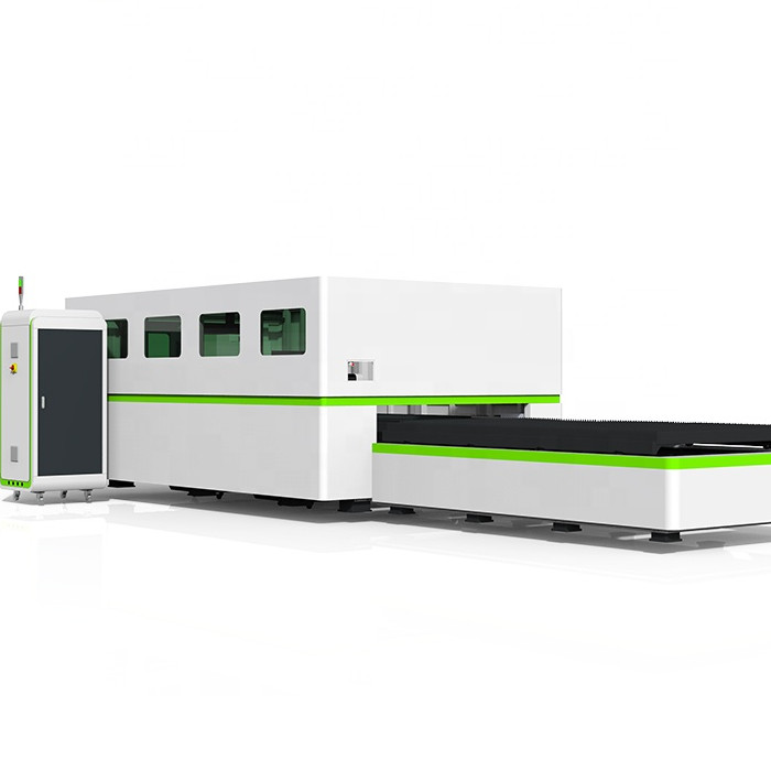 enclosed fiber laser cutting machine