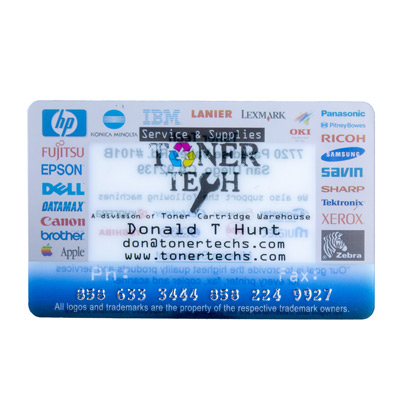 Customized Plastic Card Personalizations