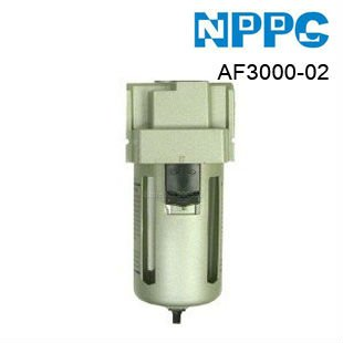 SMC type air filter. high quality air treatment unit. Model:AF3000-02 G1/4.Free-shipping