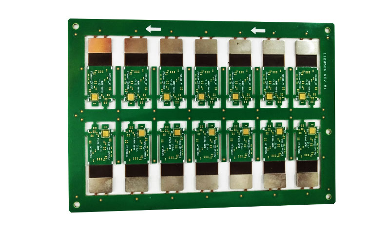 Metal Stiffener Rigid Flex PCB