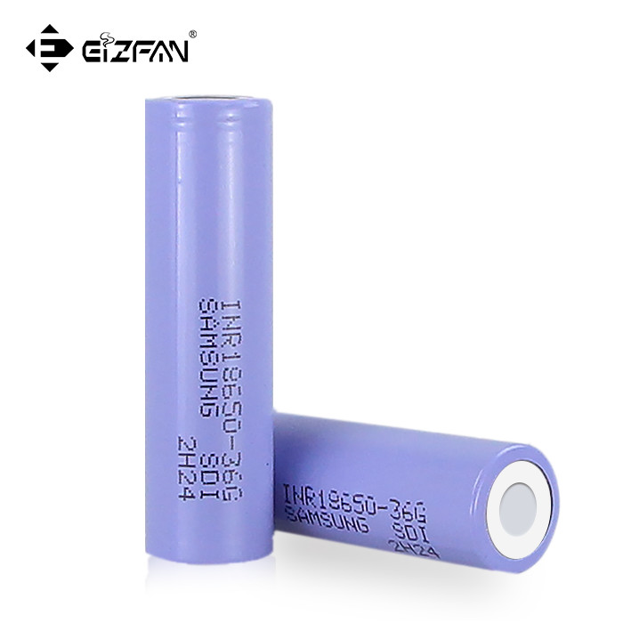 Samsung INR 18650 36G 3600mAh 10A battery for ebike battery pack