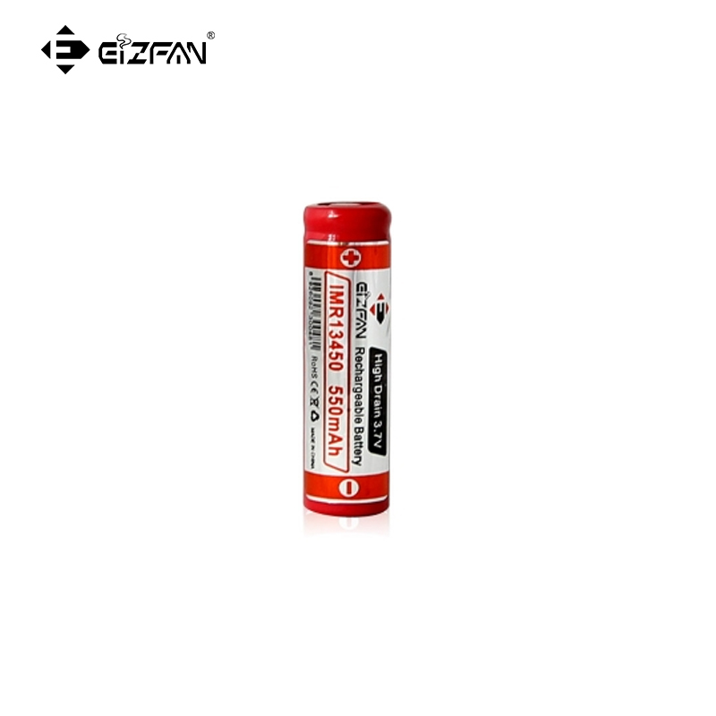 EFAN IMR 13450 550mah 3.7v LiMn battery with Button top