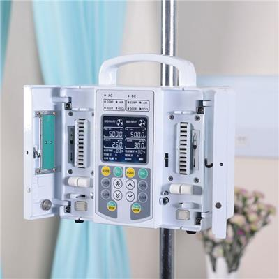 Dual Channel Medical Infusion Pump