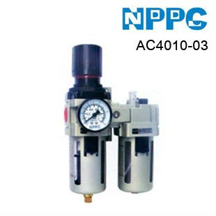 SMC type air treatment unit.FRL'S.Model:AC4010-03.3/8.Free-shipping