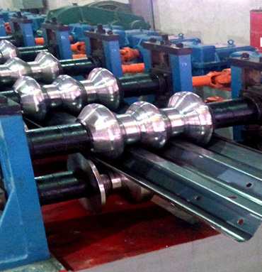C & POP CHANNEL ROLL FORMING MACHINE