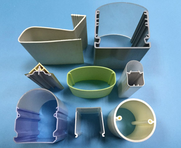 Plastic Pipe  PP Plastic Extrusion Profile  Customized Plastic Products