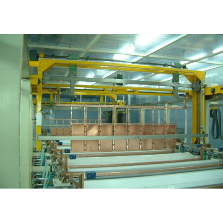 Automatic equipment hardware metal used electroplating line