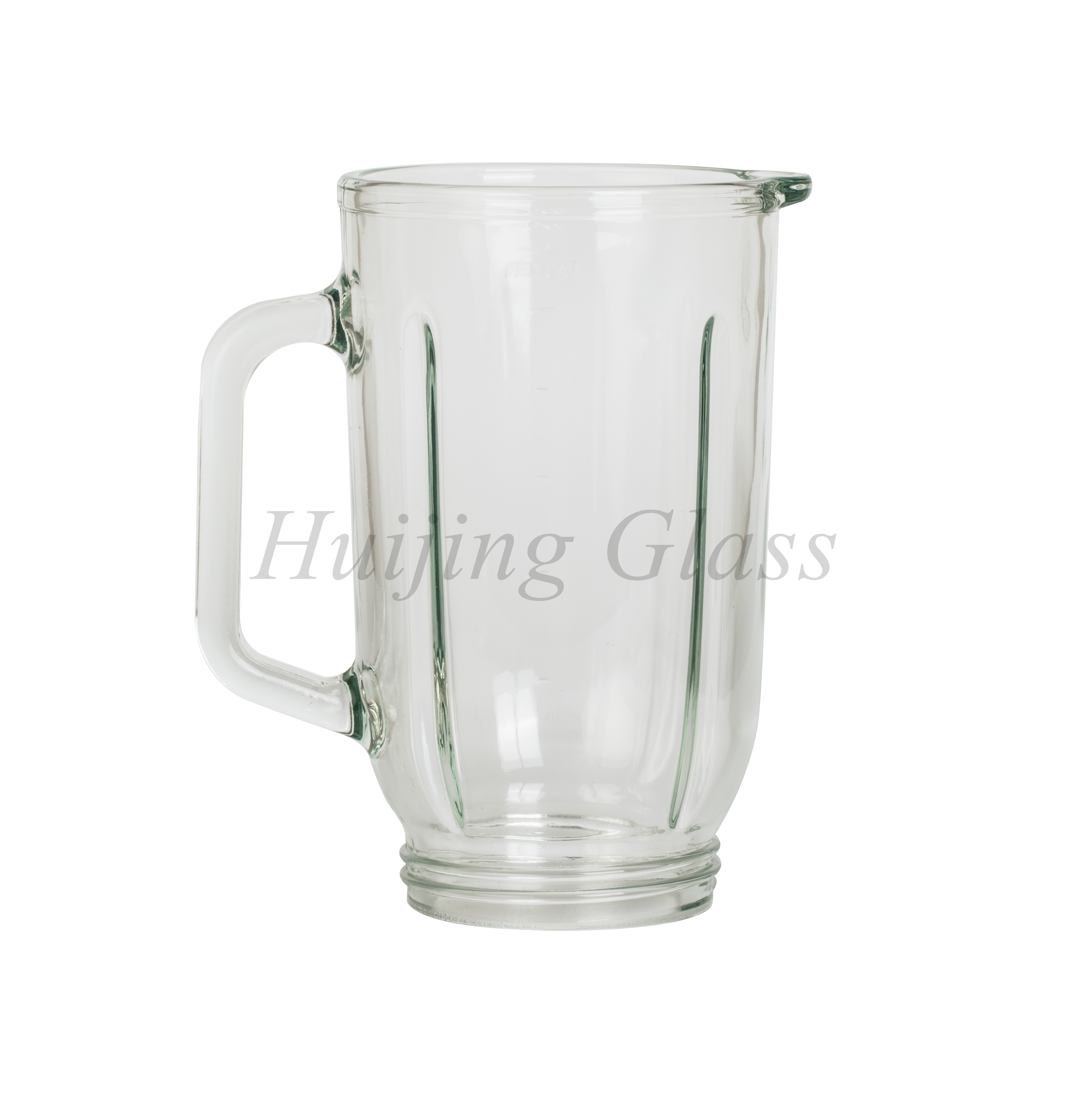 (A03)new design 1L round blender jar in well quality