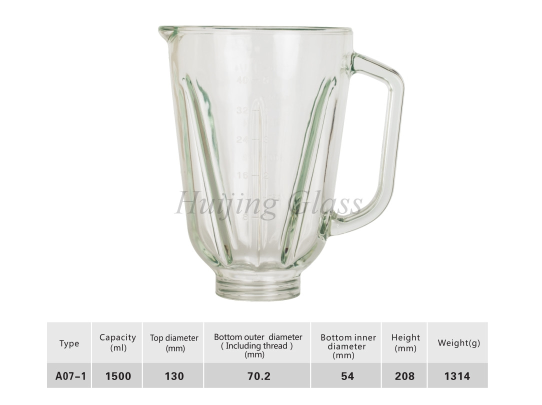 (A07-1)china manufacturer blender jar in quality juicer blender