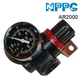 AIRTAC type air pressure regulator.AR2000 1/4
