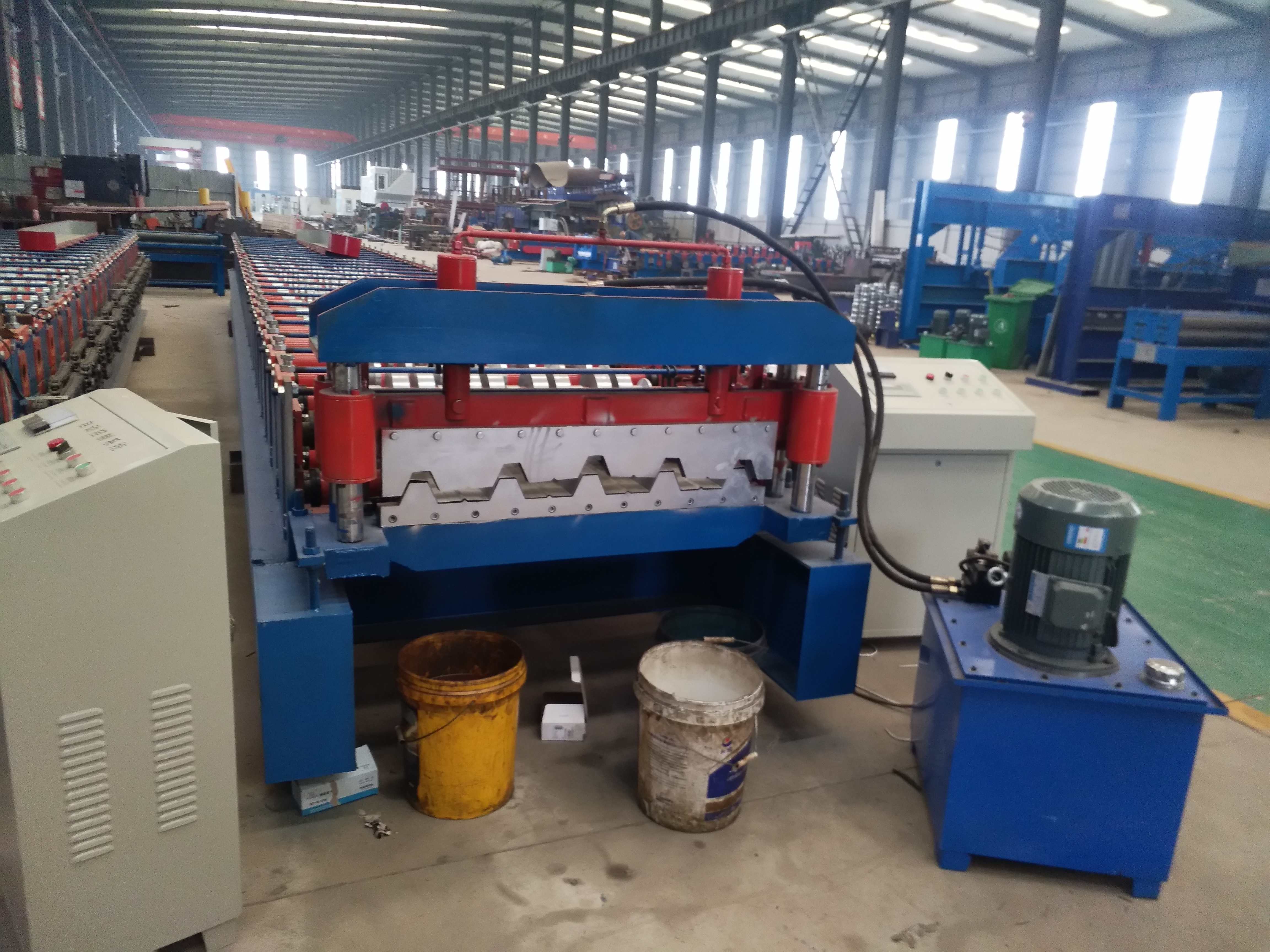 H35 Roll Forming Machine