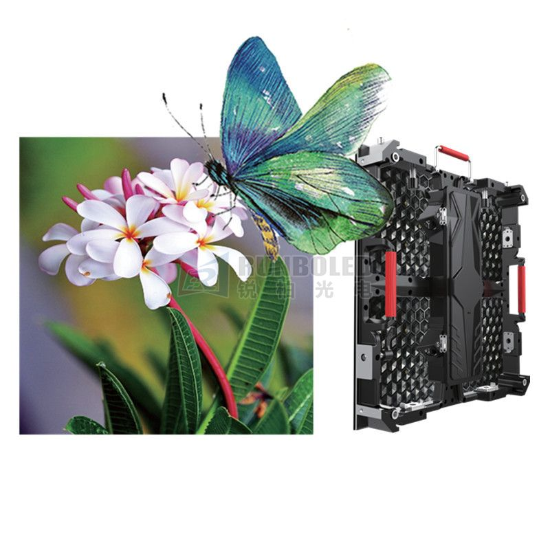 P2.976 Indoor Full Color LED Screen with Die-casting Aluminum Cabinet for Rental
