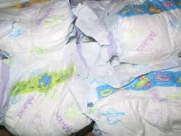 BABY DIAPERS BALES