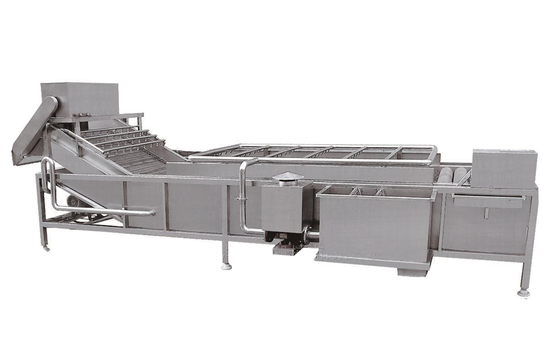 Industrial vegetable washer / fruit and vegetable washer