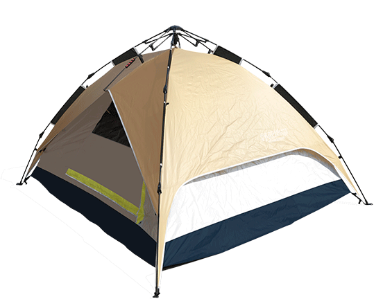 hydraulic aluminium quick camping tent with aluminum coating   Quick Camping Tent Manufacturer