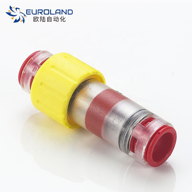 China Microduct Straight Coupling Connector Microduct Connector Straight