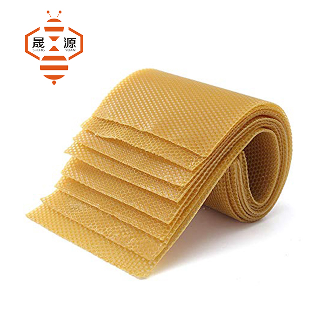 100% pure beeswax foundation sheet bee comb