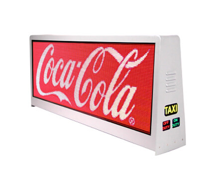 Taxi top LED display  Taxi LED Display, Taxi Roof LED Display, Taxi Top LED Display