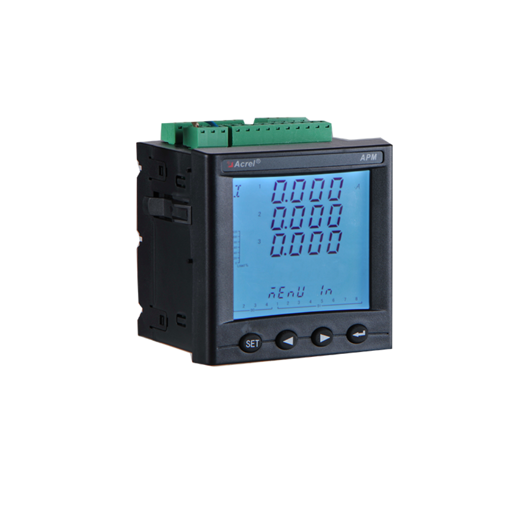 Acrel Intelligent overload 1.2 times rated value AC 100/110/400/690V frequency 45-65 Hz Multi-function Energy meter APM800
