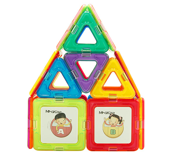 Magnetic Building Blocks for Children