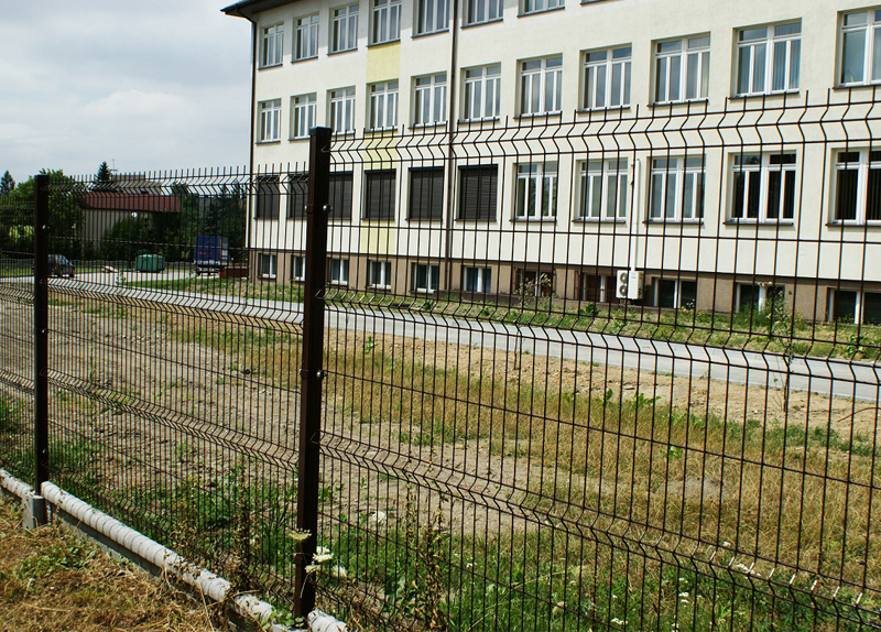 Welded Wire Mesh Fence Panels factory