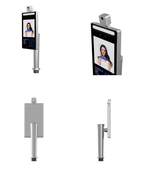 TC-015 Face recognition gate head  commercial buildings digital signage